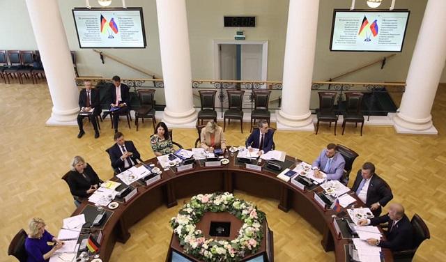 Заседание немецко-российской группы в Санкт-Петербурге
