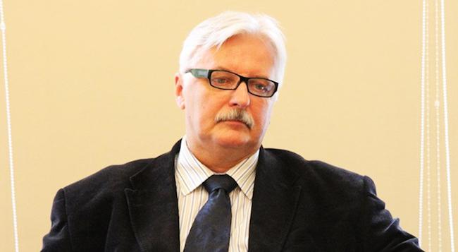 Министр иностранных дел Польши Витольд Ващиковский