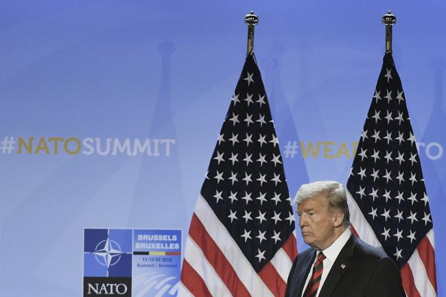 Donald Trump. Photo: EPA/CHRISTIAN BRUNA