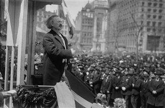 Koncert w hołdzie I.J.Paderewskiemu w Nowym Jorku