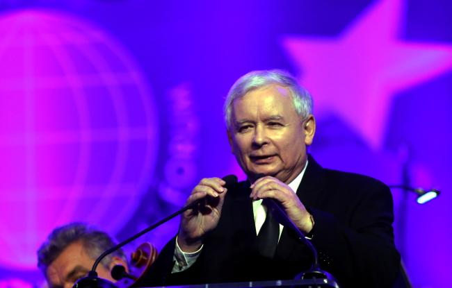 Jarosław Kaczyński beim Wirtschaftsforum in Krynica