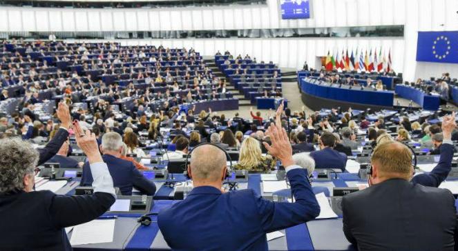 Sesja plenarna Parlamentu Europejskiego