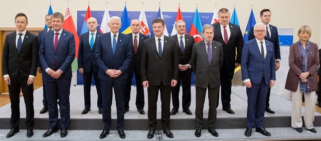 Встреча министров иностранных дел Вышеградской группы и Восточного партнерства в Братиславе