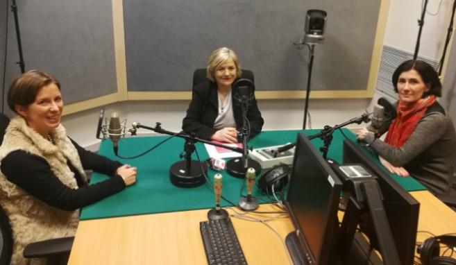 Aleksandra Karkowska (od lewej) i Barbara Caillot Dubus (od prawej) Foto: Barbara Caillot Dubus