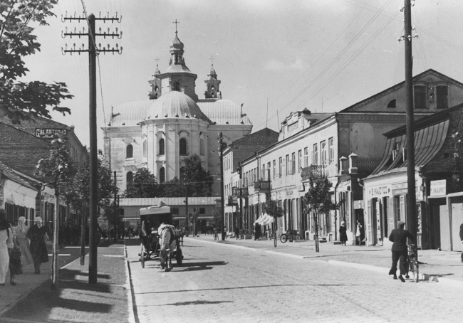 Даваенны Пінск, 1930-я гады
