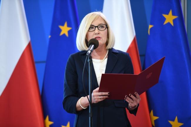 Joanna Kopcińska. Photo: PAP/Jacek Turczyk