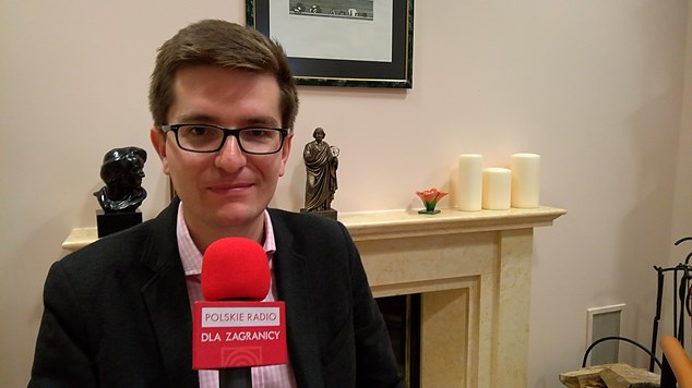 Marcin Łapczyński, dyrektor Instytutu Polskiego w Wilnie
