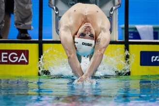 Swimming: World championship bronze for Poland's Kawęcki