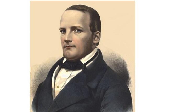 Stanisław Moniuszko (1819-1872). Image: Adolphe Lafosse [Public domain], via Wikimedia Commons