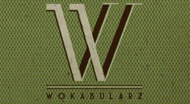 """Fragment okładki """"Wokabularza"""""""