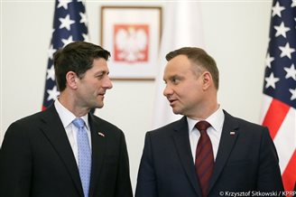 A look at the visit by US House of Representatives Speaker Paul Ryan to Warsaw