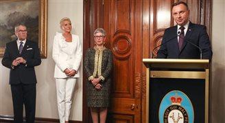 Melbourne: prezydent odznaczył australijskich polityków