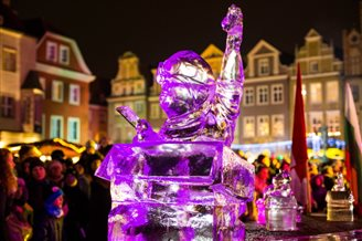 Poznan hosts Ice Sculpture Festival