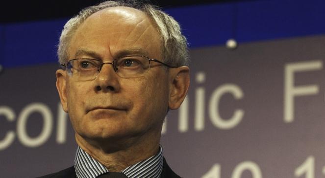 Przewodniczący Rady Europejskiej Herman Van Rompuy