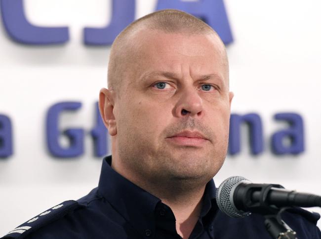 Главный комендант полиции Збигнев Май.
