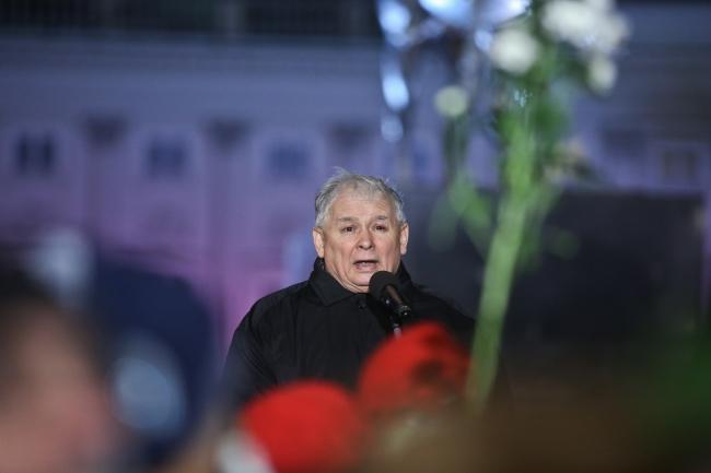 Глава партии «Право и справедливость» Ярослав Качинский.