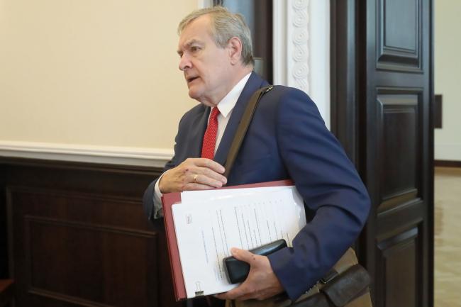 Віце-прем'єр, міністр культури і національної спадщини Польщі Пйотр Ґлінський