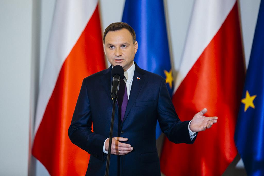 Andrzej Duda. Photo: Eliza Radzikowska-Białobrzewska/KPRP