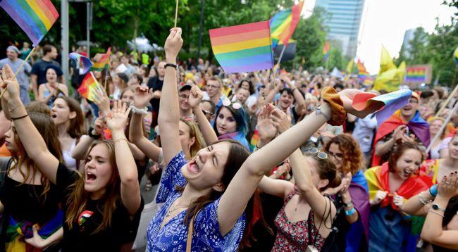 Парад равенства в Варшаве, 8 июня 2019