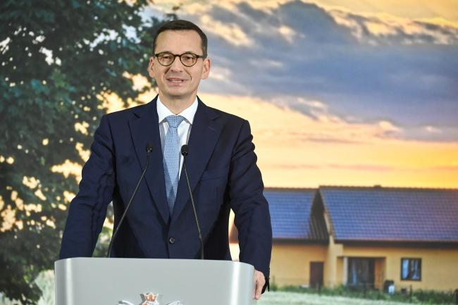 PM Mateusz Morawiecki. Photo: PAP/Grzegorz Michałowski