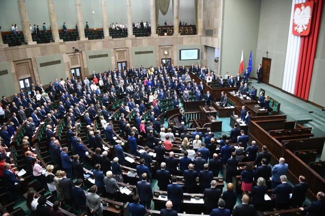 Polish MPs in parliament on Friday. Photo: PAP/Jacek Turczyk