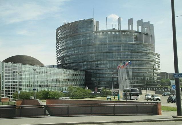 European Parliament, Strasbourg. Photo: dr. avishai teicher/Wikimedia Commons