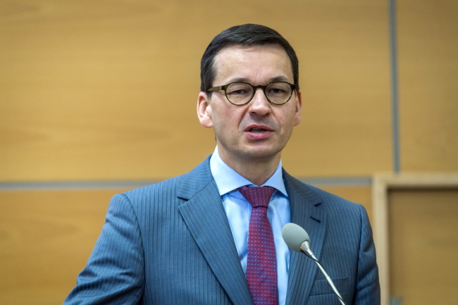 PM Mateusz Morawiecki. Photo: PAP/Tytus Żmijewski