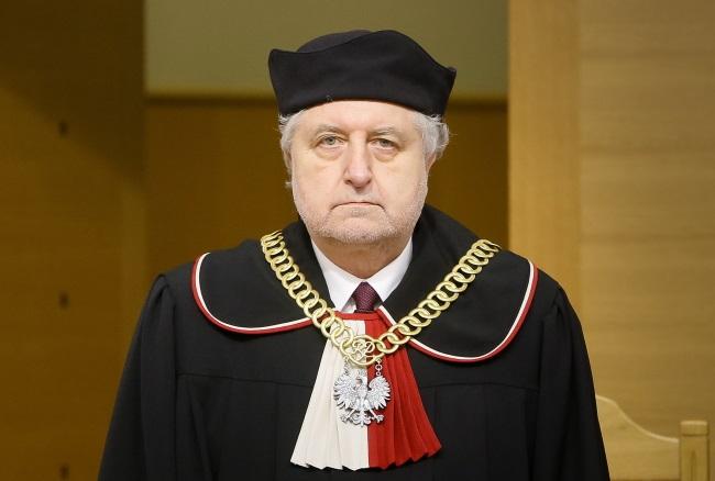 Constitutional Tribunal president Andrzej Rzepliński. Photo: PAP/Paweł Supernak