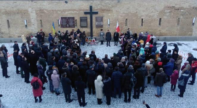 Учасники святкувань з нагоди 115-ї річниці Січневого повстання у «Київській фортеці»